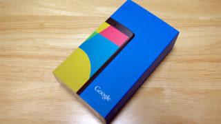 Nexus5を買いました。