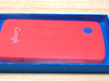 Nexus5純正ケースを買いました。