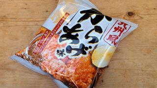 ポテトチップス九州風からあげ味を食べた。