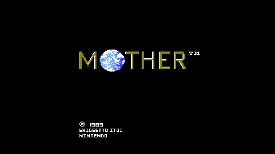 MOTHERをプレイ。