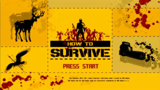 HOW TO SURVIVE:ゾンビアイランドをプレイ。