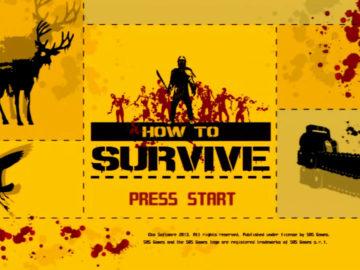 HOW TO SURVIVE:ゾンビアイランドをプレイ。
