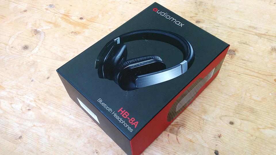 audiomax Bluetoothヘッドフォン HB-8Aが届きました。