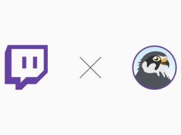 Twitchとパートナーシップチャンネルの契約を締結しました。