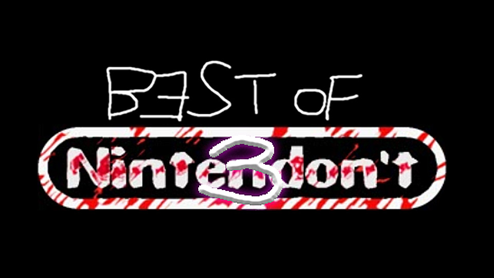 Best of Nintendon't 3に参加します。
