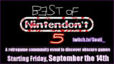Best of Nintendon't 5に参加します。