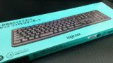 logicool フルサイズワイヤレスキーボート(K275)購入。
