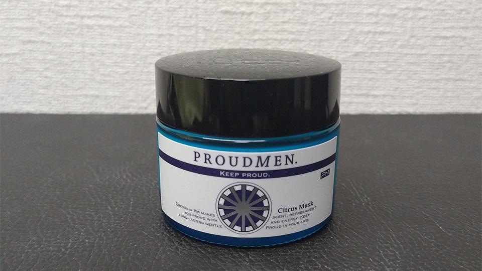 PROUDMEN.グルーミングバームCM (シトラスムスクの香り) を買った。