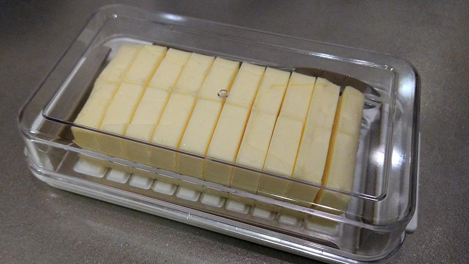バターケースを買った。